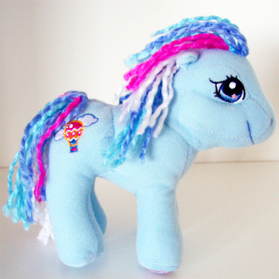 G3 My Little Pony Index By Body Type Plush