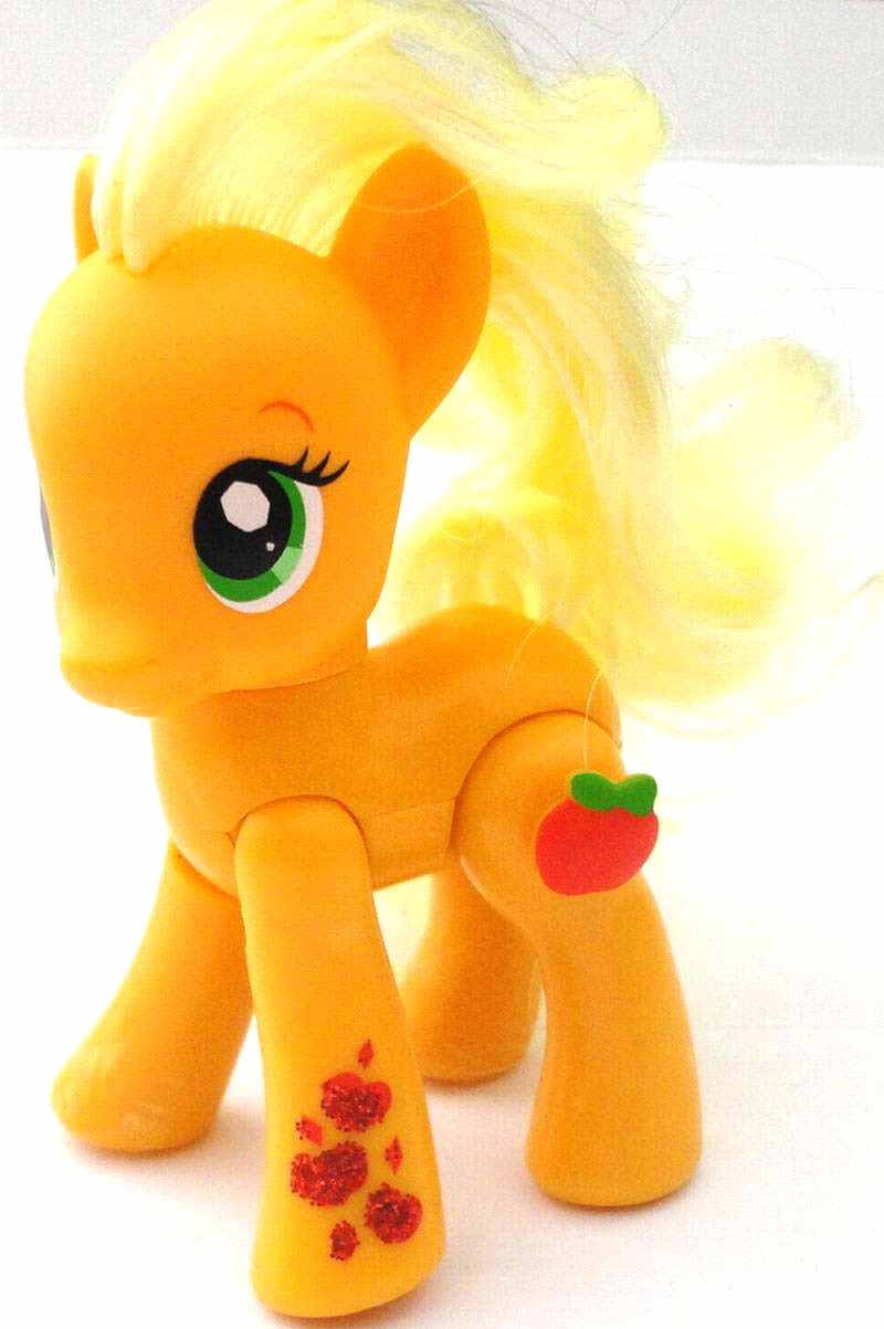 G4 My Little Pony Reference Orange Ponies