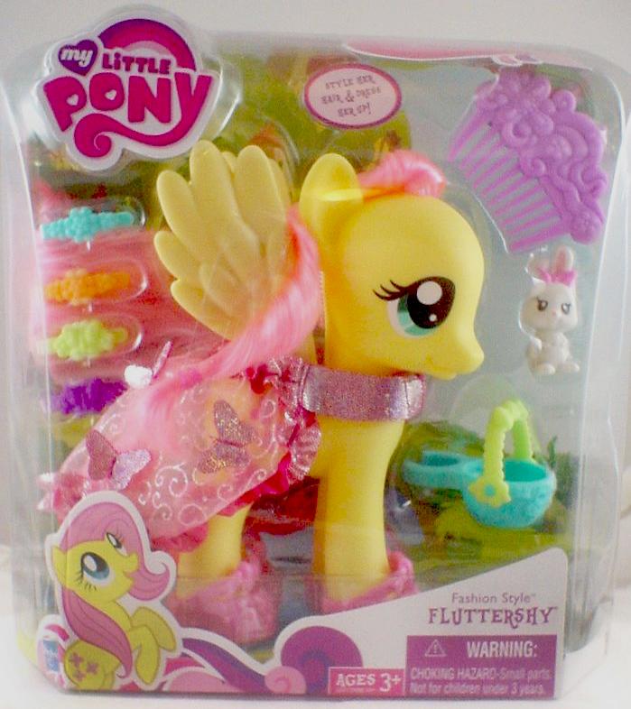 G4 My Little Pony Reference Fluttershy Fashion Style