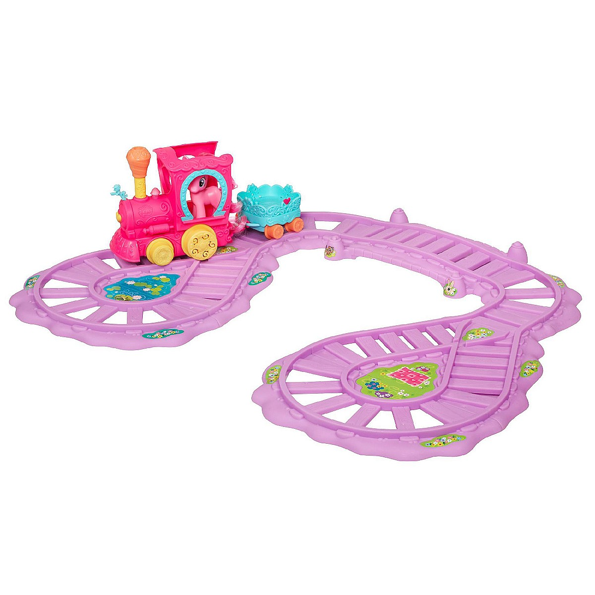 Hasbro Train Set : G my little pony reference pinkie pie friendship is magic
