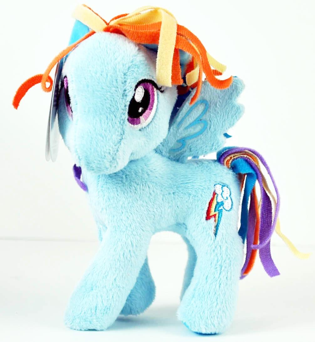 "My Little Pony Friendship Is Magic Rainbow Dash 11/"" Plush 2014 Hasbro Funrise"
