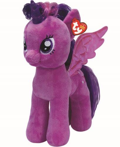 3956e80362e Twilight Sparkle (Princess) (brushable hair) by TY 2014 Beanie Babies