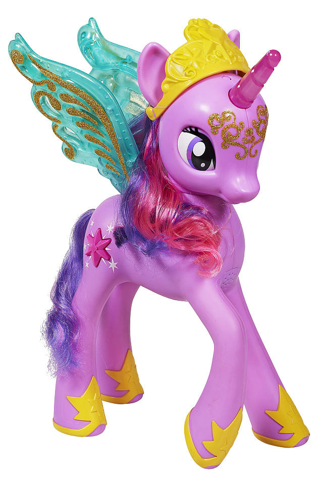 G4 My Little Pony Princess Twilight Sparkle Talking