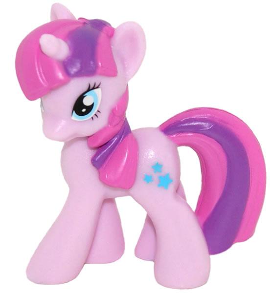 "2016 My Little Pony FiM Blind Bag Wave #15 2/"" Glitter Mane Rarity Pony Figure"