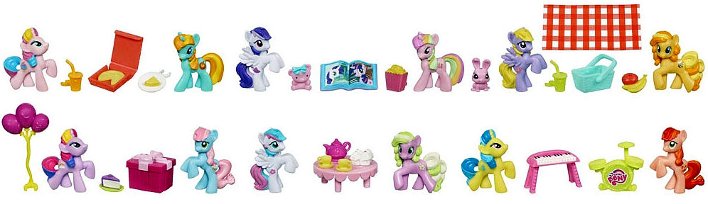 My Little Pony Friendship Is Magic de collection-Pepperdance