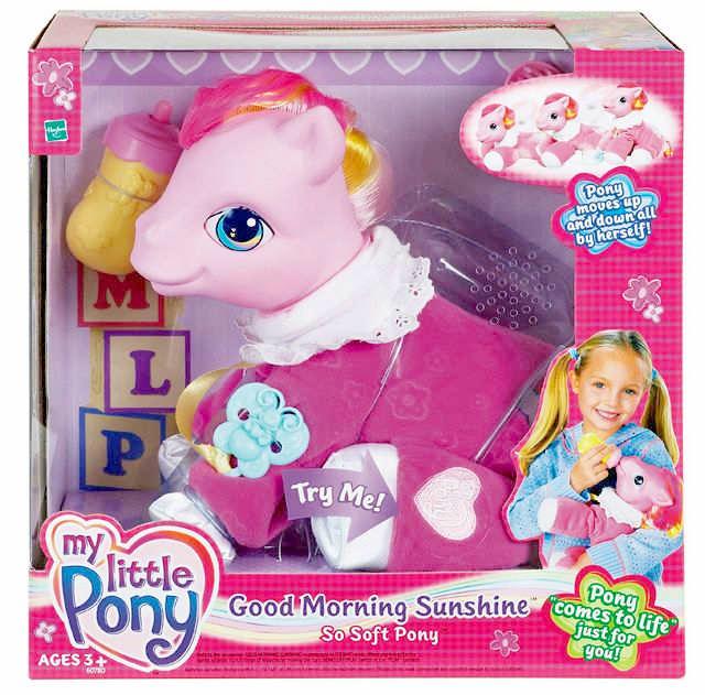 G3 My Little Pony Good Morning Sunshine So Soft