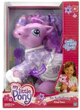 G3 My Little Pony Reference Amp Identification Petal Dove