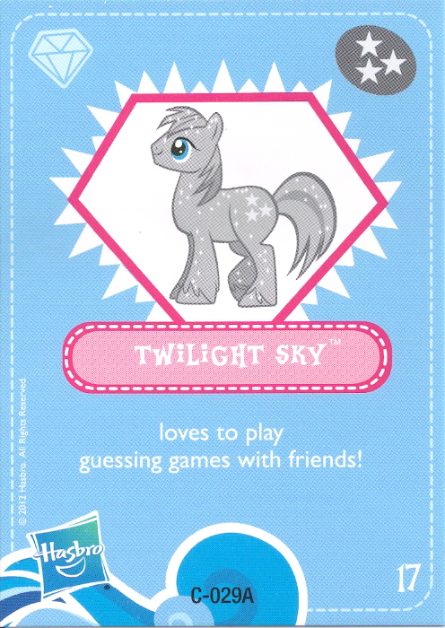 G4 My Little Pony Reference Twilight Sky Friendship Is