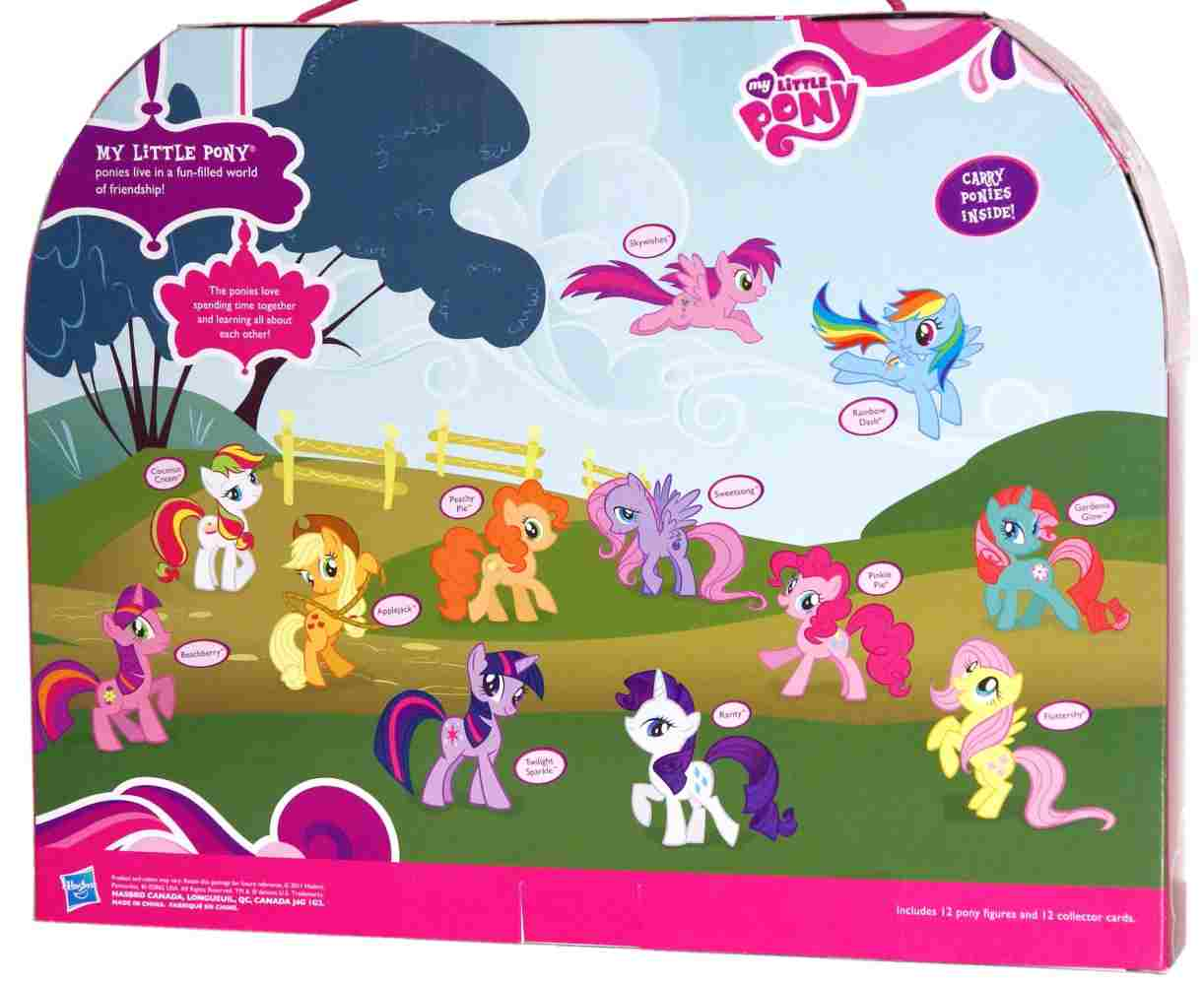 G4 My Little Pony Applejack Mini