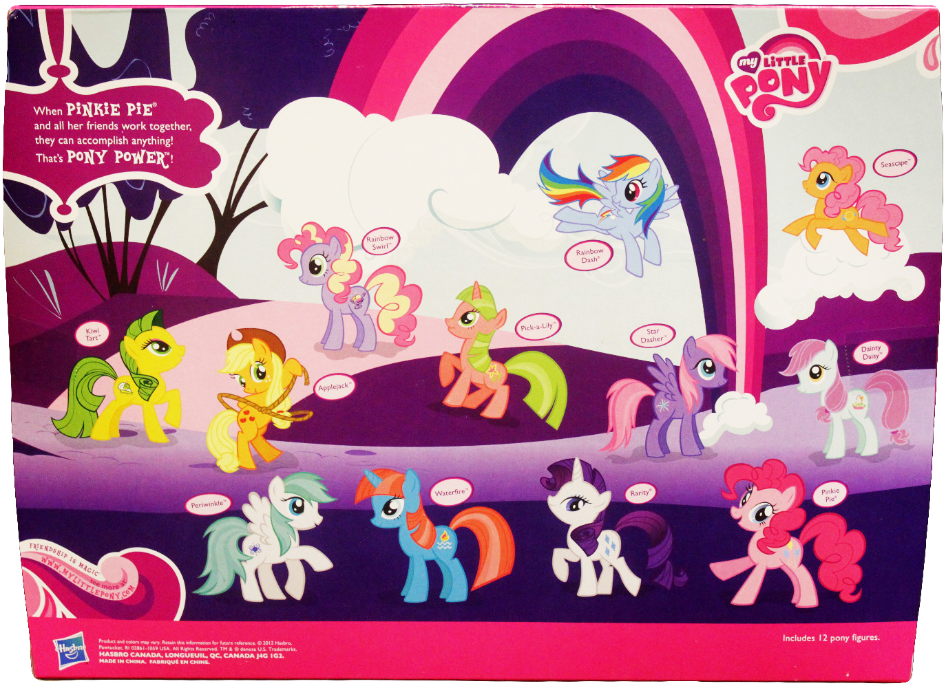 G4 My Little Pony Reference Pick A Lily Friendship Is Magic