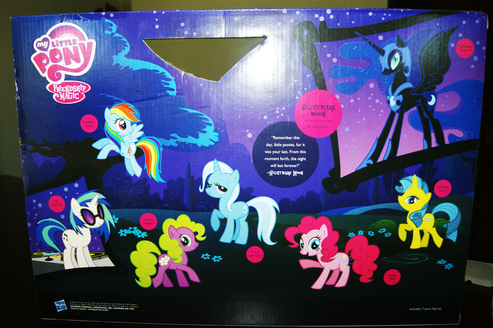 g4 my little pony reference   nightmare moon friendship