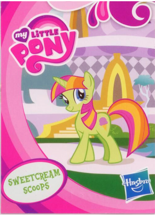 g4 my little pony reference   sweetcream scoops