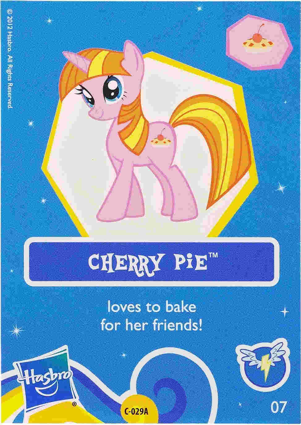 g4 my little pony reference   cherry pie friendship is magic
